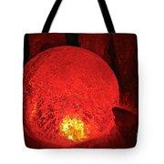 Satan's Crystal Ball Tote Bag
