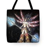 Satari God Of War And Battles Tote Bag