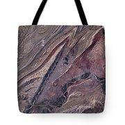 Satellite View Of Big Horn, Wyoming, Usa Tote Bag