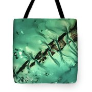 Satellite View Of Cays In North Tote Bag