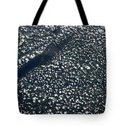 Satellite View Of Scattered Clouds Tote Bag