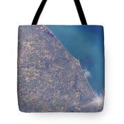 Satellite View Of St. Joseph Area Tote Bag by Stocktrek Images