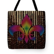Satin Lily Symbol Digital Painting Tote Bag