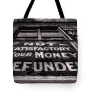 Satisfaction Guranteed Tote Bag by Ken Smith