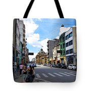 Saturday Afternoon In Sao Paulo Tote Bag