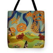 Saturday Night Out Tote Bag