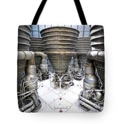 Saturn Five Rockets Tote Bag