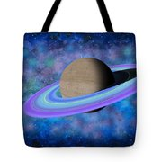 Saturn Journey Tote Bag
