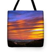 Sauble Sunset Tote Bag