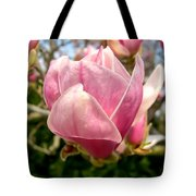 Saucer Magnolia Bloom Tote Bag