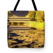 Saucks Bridge - Pond Tote Bag