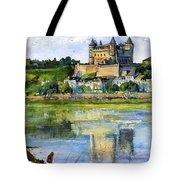Saumur Chateau France Tote Bag