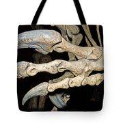 Saurophaganax Dinosaur Claw Fossil Tote Bag