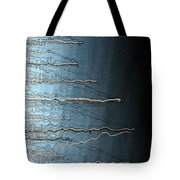 Sausalito Bay California. Stormy. Tote Bag
