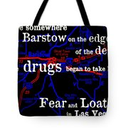Savage Journey Tote Bag by Benjamin Yeager