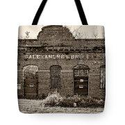 Savage Katrina Sepia Tote Bag