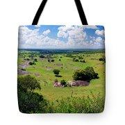 Savanna Landscape In Serengeti Tote Bag