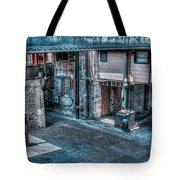 Savannah Alley Tote Bag
