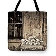 Savannah Bench Tote Bag