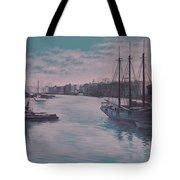 Savannah Harbor 1900 Tote Bag