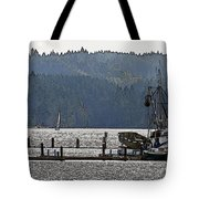 Savannah Jean On Liberty Bay Tote Bag