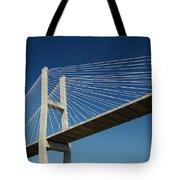 Savannah River Bridge Georgia Usa Tote Bag