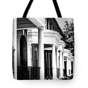 Savannah Rowhouses Savannah Ga Tote Bag