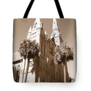 Savannah Sepia - Methodist Church Tote Bag