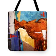Save Me God Tote Bag by Anthony Falbo