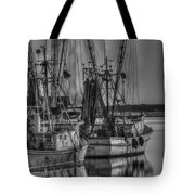 Save The Lowcountry Shrimping  Tote Bag