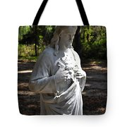 Savior Statue Tote Bag by Al Powell Photography USA