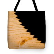 Saw Shadow Tote Bag