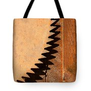 Saw Teeth Tote Bag by Jess Kraft