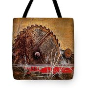 Saw You Later Tote Bag