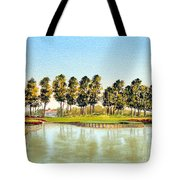 Sawgrass Tpc Golf Course 17th Hole Tote Bag