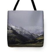 Sawtooth Mist Tote Bag