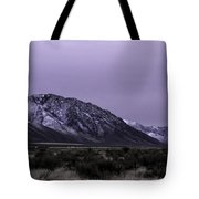Sawtooth Mountain In December Tote Bag