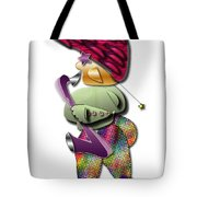 Sax Man Tote Bag by Marvin Blaine