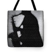 Sax On The Bricks Tote Bag