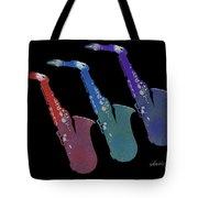 Saxophone 55k Tote Bag