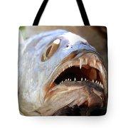 Fanged Fish Say Ahhhhhh Tote Bag
