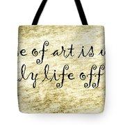 Say It Again Tote Bag by Joan Carroll