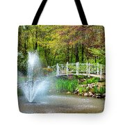 Sayen Garden Impression Tote Bag