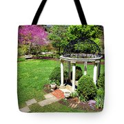 Sayen Garden Spring Tote Bag