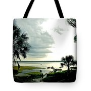 Scallop Waters Tote Bag