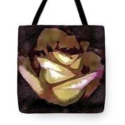 Scanned Rose Water Color Digital Photogram Tote Bag