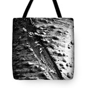 Laceration Tote Bag