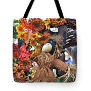 Scarecrow In A Chair Tote Bag