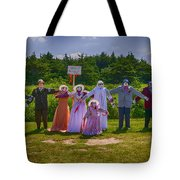 Scarecrow Wedding Tote Bag by Garry Gay