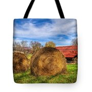 Scarecrow's Dream Tote Bag by Debra and Dave Vanderlaan